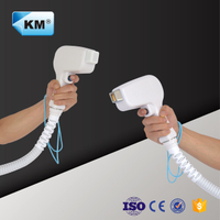 High quality diode laser handpiece / diode laser handle for 808nm diode laser machine